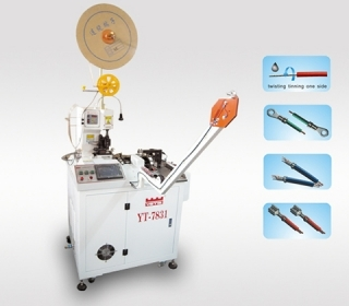全自动端子机使用过程中有三种方式